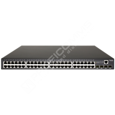 Edge-Core ECS4100-52P: L2/4 Gigabit switch 48 portů 10/100/1000Base-T a 4x 1000Base-X SFP slot, PoE výkon 410W, podpora 802.3at PoE+ 30W/port, IPv6