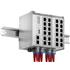 Microsens MS652119PM: Průmyslový Gigabit Ethernet switch, 8x 10/100/1000M PoE+ (PSE), 1x 10/100/1000M PoE+ (PD), 4x GE Combo RJ45/SFP, hlavní jednotka, možnost rozšíření