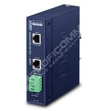 Planet IPOE-173S: Průmyslový jednoportový 10/100/1000T 802.3bt PoE++ Splitter