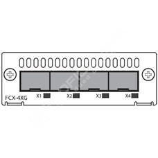 Ruckus FCX-4XG: Uplink/stacking modul 4x 10GbE SFP+