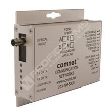 ComNet FDX60S1AM: Optický konvertor pro data