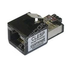 ComNet CLESP: 1 portová přepěťová ochrana RJ45S, 10/100/1000Mb a IEEE 802.3af/802.3at (PoE / PoE+)