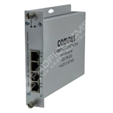 ComNet CNFE4SMS: Průmyslový 4 port Fast Ethernet L2 switch self management