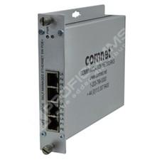 ComNet CNFE4SMSPOE: Průmyslový 4 port Fast Ethernet L2 PoE+ switch self management