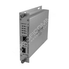 ComNet CNFE8RCOE: Průmyslový Fast Ethernet media konvertor 10/100M RJ45 na SFP, kontakty