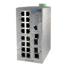 ComNet CNGE2FE16MS: Průmyslový 18 port Fast Ethernet L2 switch management