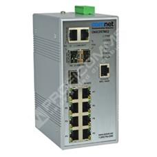 ComNet CNGE3FE7MS3: Průmyslový 10 port Fast Ethernet L2 switch management