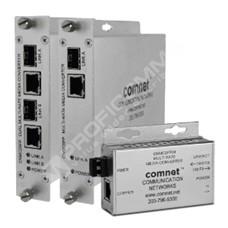 ComNet CNMCSFP: Průmyslový Gigabit Ethernet media konvertor 10/100/1000M RJ45 na 100/1000M SFP