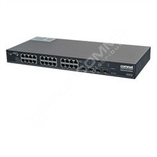 ComNet CWGE26FX2TX24MSPOE: 26 port Gigabit Ethernet L2 PoE+ switch management