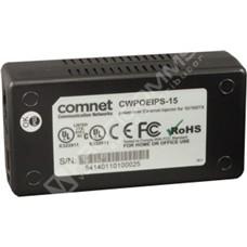 ComNet CWPOEIPS-15: 1 port Gigabit Ethernet PoE midspan injektor