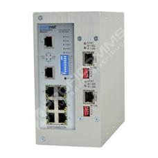 ComNet VDSLMS-2: Průmyslový 8 port Fast Ethernet VDSL2 L2 switch management