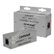 ComNet CNFE1RPT/PD: Průmyslový 1 port Fast Ethernet PoE++ repeater