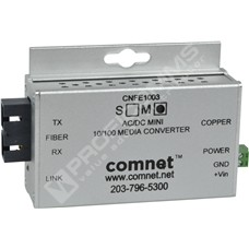 ComNet CNFE1003MAC2-M: Průmyslový Fast Ethernet mini media konvertor 10/100M RJ45 na MM SC