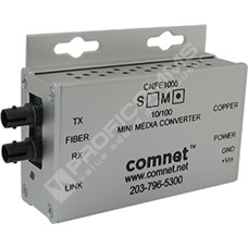 ComNet CNFE1005MAC2-M: Průmyslový Fast Ethernet mini media konvertor 10/100M RJ45 na MM ST