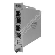 ComNet CNFE22MC: Průmyslový Fast Ethernet 2 port media konvertor 2x10/100M RJ45 na 2x SFP