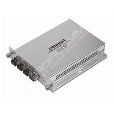 ComNet CNFE4FX4US: Průmyslový 4 port Fast Ethernet L2 switch