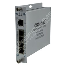 ComNet CNFE5SMSPOE: Průmyslový 5 port Fast Ethernet L2 PoE+ switch self management