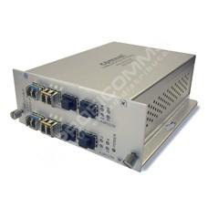 ComNet CNFE8FX8US: Průmyslový 8 port Fast Ethernet L2 switch