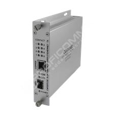 ComNet CNFE8TCOE: Průmyslový Fast Ethernet media konvertor 10/100M RJ45 na SFP, kontakty
