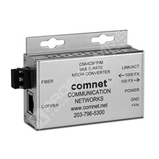ComNet CNMCSFP/M: Průmyslový Gigabit Ethernet mini media konvertor 10/100/1000M RJ45 na 100/1000M SFP