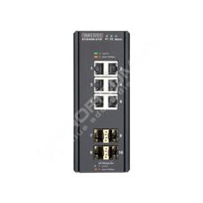 Edge-Core ECIS4500-6T4F: Průmyslový Gigabit Ethernet L2/L3 switch s 1GE uplinkem 10 port, zdroj -48V DC
