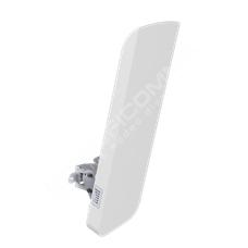 LigoWave DLB-2-90: 2.4 Ghz WiFi jednotka,  propustnost 170 Mbps, výkon 31dBm, 90° sektorová anténa, IP-65