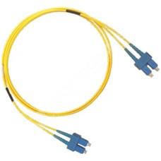 MODnet V09SC/SC2D: Optický SM 9/125um patchcord, duplex, konektory SC(PC)/SC(PC), délka 2m