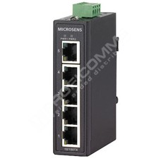 Microsens MS656100: Průmyslový Fast Ethernet switch bez managementu, 5x 10/100M RJ45