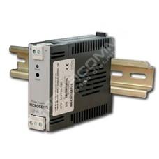 Microsens MS700434: Průmyslový DC/DC zdroj na DIN lištu, vstup 18-75VDC, výstup 24Watt 24VDC/1A,