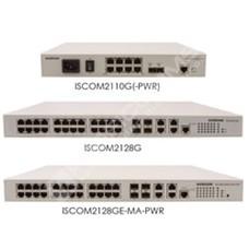 Raisecom ISCOM2128EA-MA-AC: Fast Ethernet L2 switch, 28 port napájení 230V AC