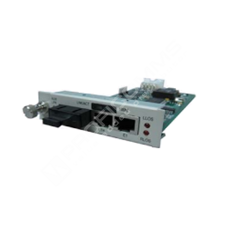 Raisecom RCMS2802-60GE-BL-M: Multiplexer - převodník 2x E1 + Gigabit Ethernet na optiku MM, 220m/550m