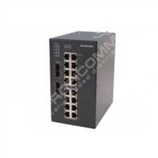 Raisecom S1020i-2GF2GX-16FE-AC: Průmyslový L2 switch s managementem, 2x 100Base-FX/1000Base-X  SFP, 2 GE kombo porty, 16x 10/100Base-TX, AC 220V