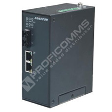 Raisecom S1003i-FX-2FE-M-ST-AC: Průmyslový L2 switch s managementem, 1x 100Base-FX SC/ST, 2x 10/100Base-TX, Multimode 1310nm, 2km, AC 220V