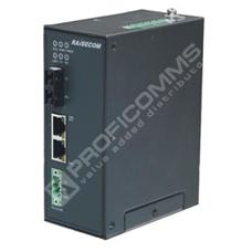 Raisecom S1003i-FX-2FE-DCW48: Průmyslový L2 switch s managementem, 1x 100Base-FX SFP, 2x 10/100Base-TX,  20km,  DC 48V