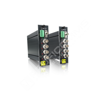 SIQURA TETRA 4250 TX: Optický konvertor pro video a data