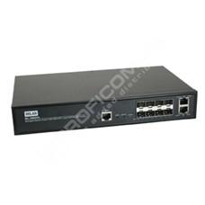 Transition Networks MIL-SM8DPA: Optický 8 port Gigabit Ethernet L2 switch