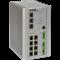 ComNet CNGE11FX3TX8MSPOE: Průmyslový 8 portový Gigabit Ethernet L2 switch s managementem s PoE (až 30W/port), 2x SFP port s 2.5Gbps