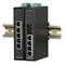 Microsens MS657102PX: 5 port Průmyslový Fast Ethernet PoE switch, 4x 10/100Base-TX, 1x 100Base-FX Multimode 1310nm SC, 4x PoE+ (30W) Injector, 48..56VDC