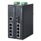 Microsens MS657102X: 5 port Průmyslový Fast Ethernet switch, 4x 10/100 Base-TX, 1x 100Base-FX Multimode 1310nm SC