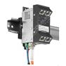 Microsens MS440217PMXH-48G6-GT: Zodolněný Gigabit Ethernet Micro-Switch, 4x 10/100/1000M PoE+ (PSE), 2x FE/GE SFP, montáž na DIN lištu, vertikální verze, napájení 44~57V DC
